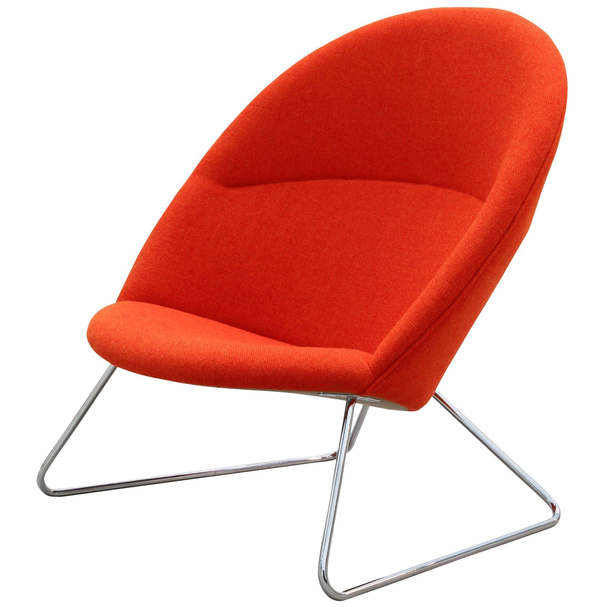 Nanna Ditzel & Jørgen Ditzel, Red Dennie Chair by One Collection