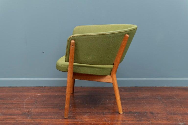 Scandinavian Modern Nanna Ditzel Lounge Chair For Sale