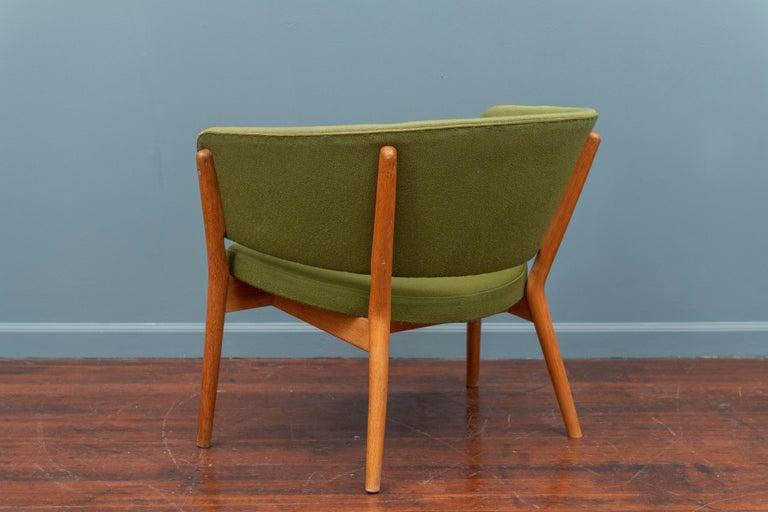Danish Nanna Ditzel Lounge Chair For Sale