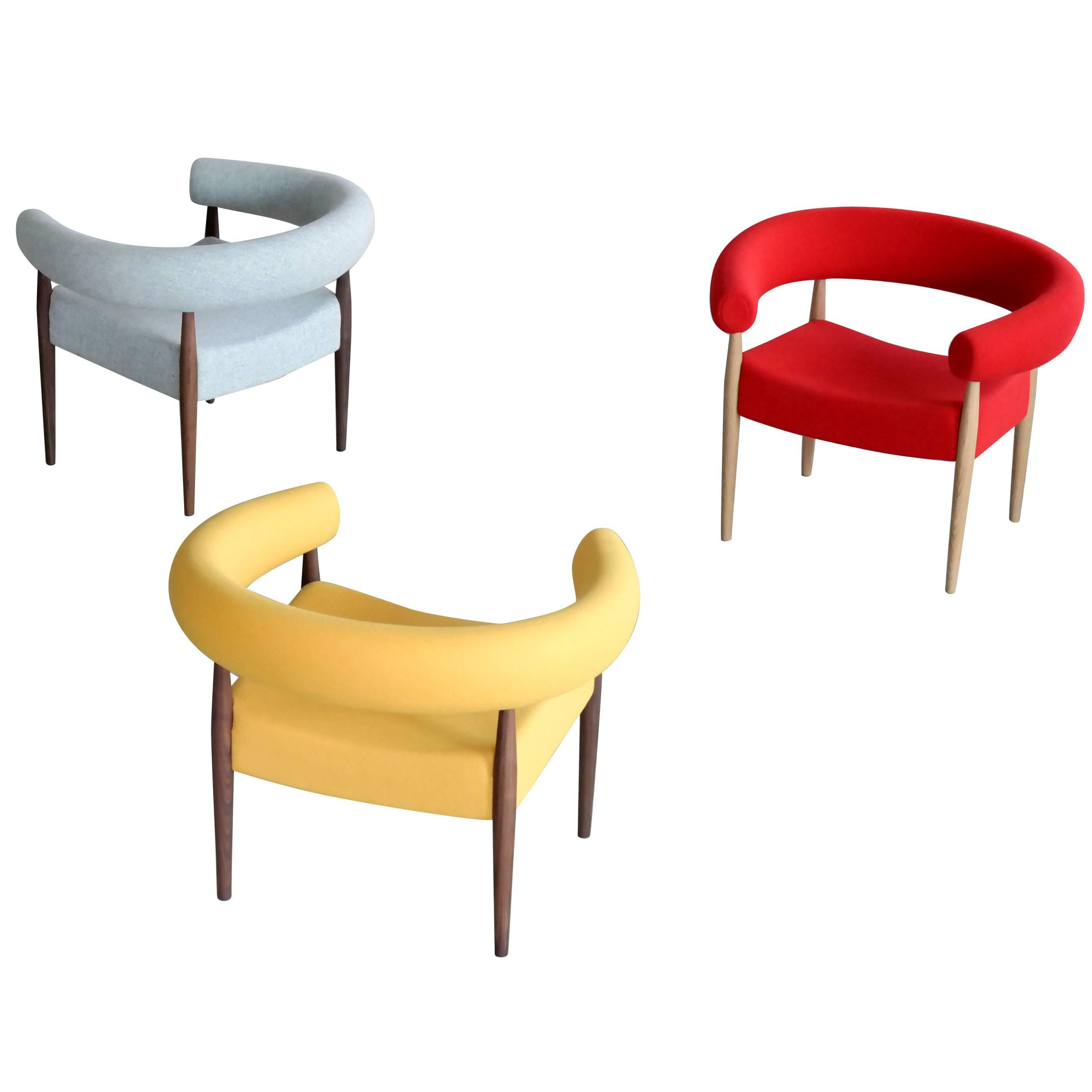 Beau Nanna Ditzel Ring Chairs For GETAMA For Sale