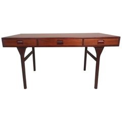 Nanna Ditzel Rosewood Writing Desk by Søren Willadsen Mobelfabrik