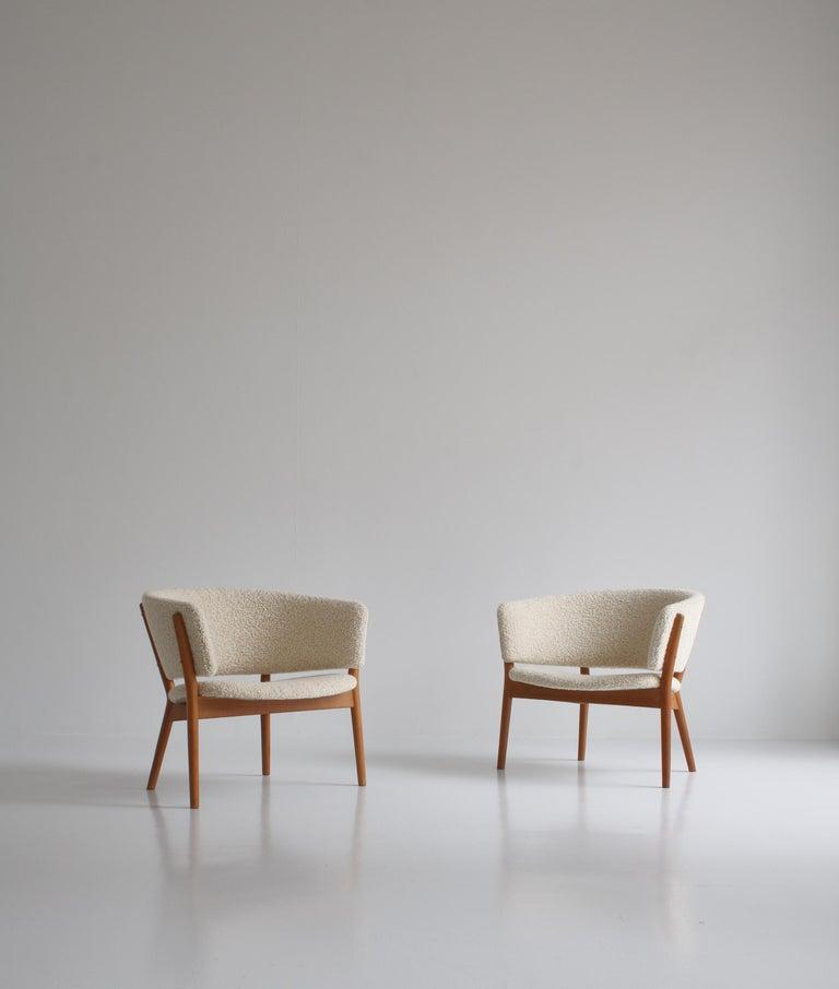 Scandinavian Modern Nanna Ditzel Set of Lounge Chairs