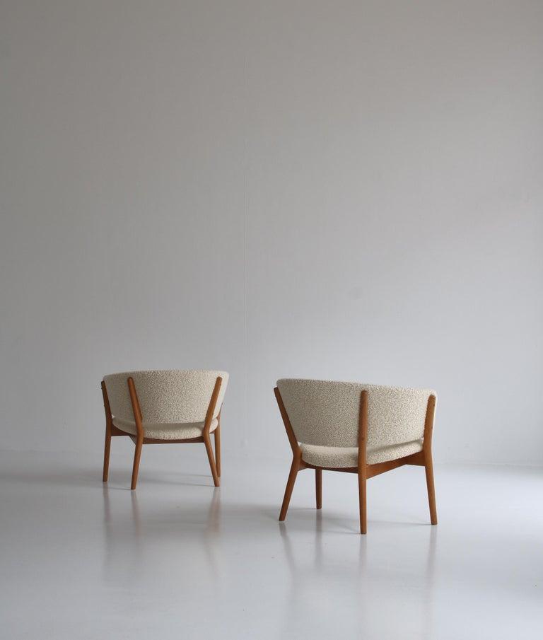 Danish Nanna Ditzel Set of Lounge Chairs