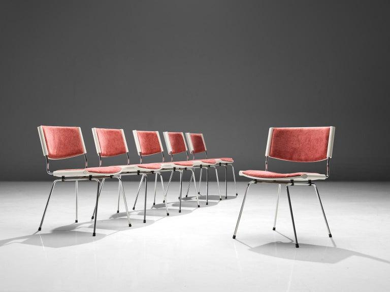Scandinavian Modern Nanna Ditzel Set of Six 'Badminton' Chairs For Sale