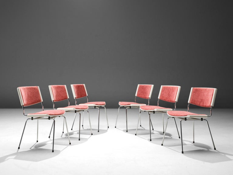 Danish Nanna Ditzel Set of Six 'Badminton' Chairs For Sale