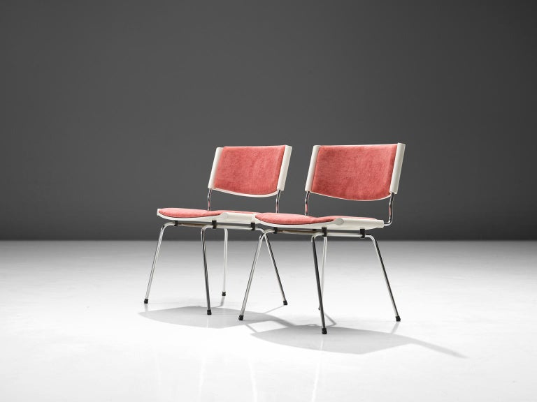 Mid-20th Century Nanna Ditzel Set of Six 'Badminton' Chairs For Sale
