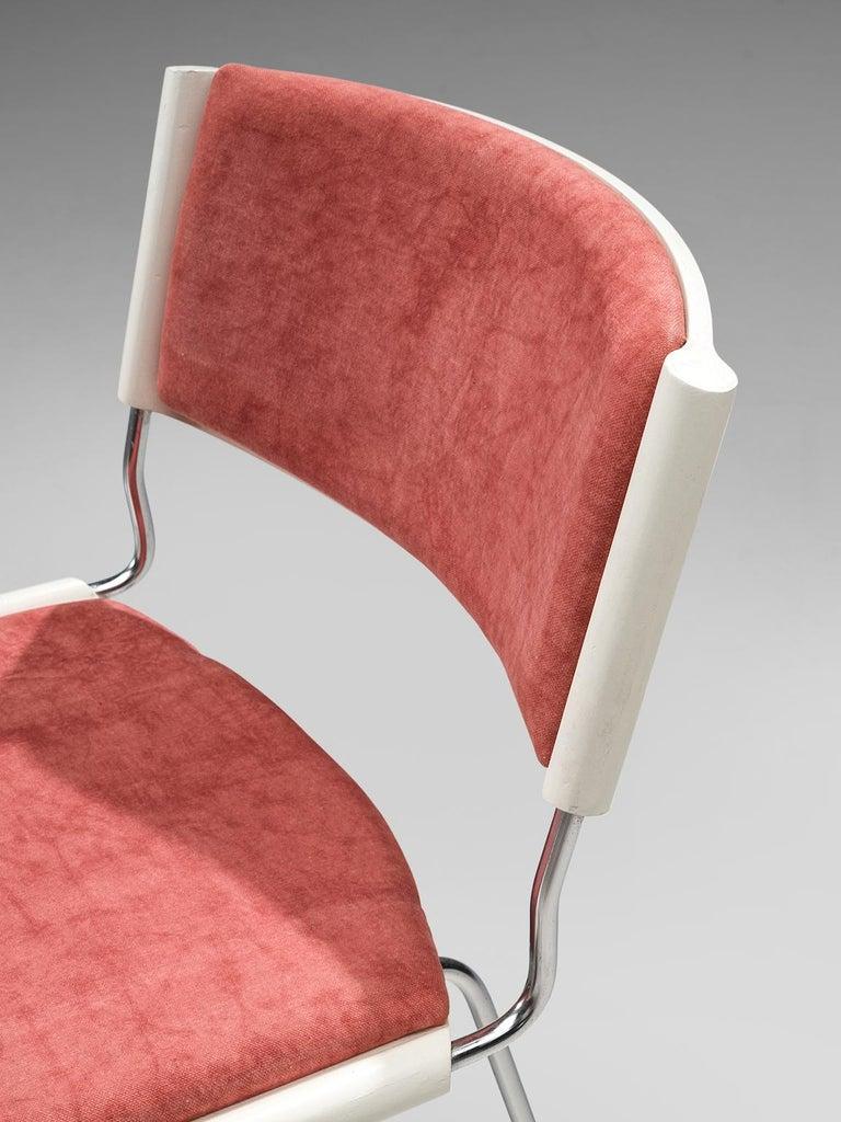 Steel Nanna Ditzel Set of Six 'Badminton' Chairs For Sale