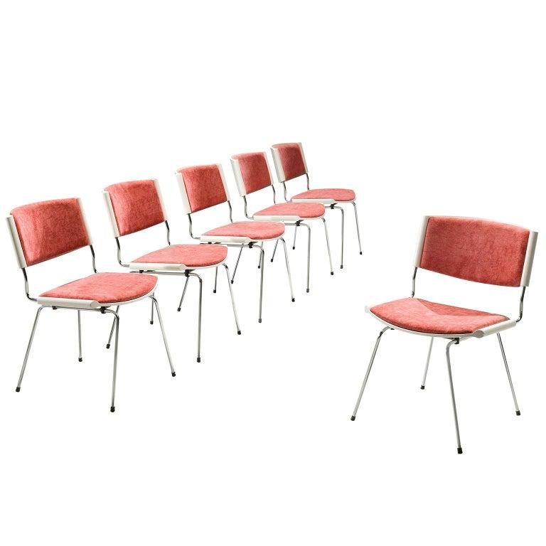 Nanna Ditzel Set of Six 'Badminton' Chairs For Sale