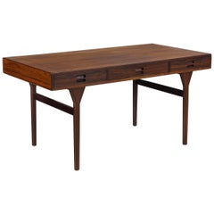 Nanna Ditzel Three-Drawer Desk in Rosewood