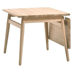 Nanna and Jorgen Ditzel ND-55 Coffee Table with Leaf, Lacquered Oak