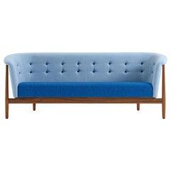 Nanna & Jorgen Ditzel Vita 3-Seat Sofa, Walnut