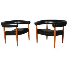 Nanna & Jørgen Ditzel, Two Ring Armchairs