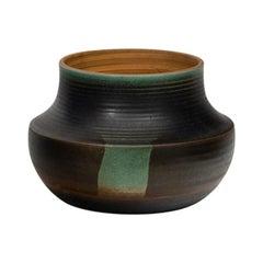 Nanni Valentini Glazed Stoneware Vase for Ceramica Arcore, 1960s