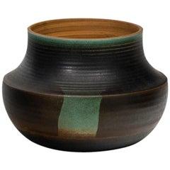 Nanni Valentini Organic Glazed Stoneware Vase for Ceramica Arcore, 1960s