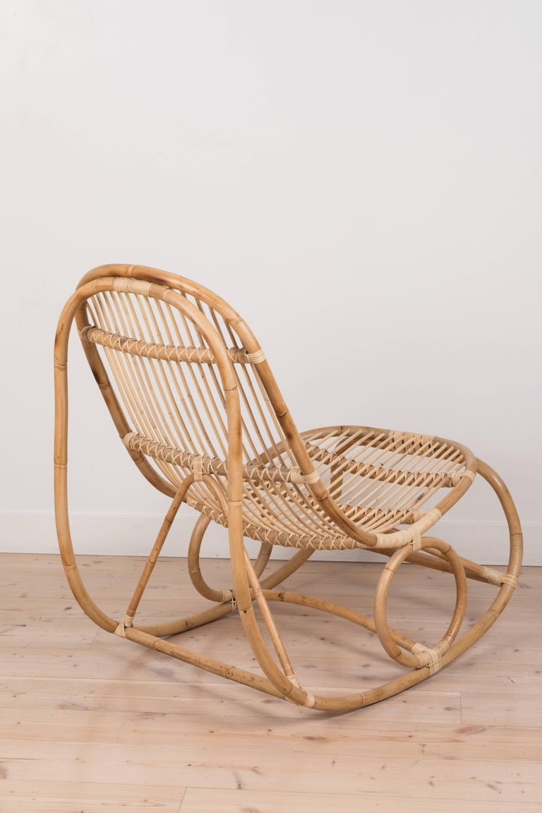 Contemporary Nanny Rocking Chair by Nanna Ditzel For Sale