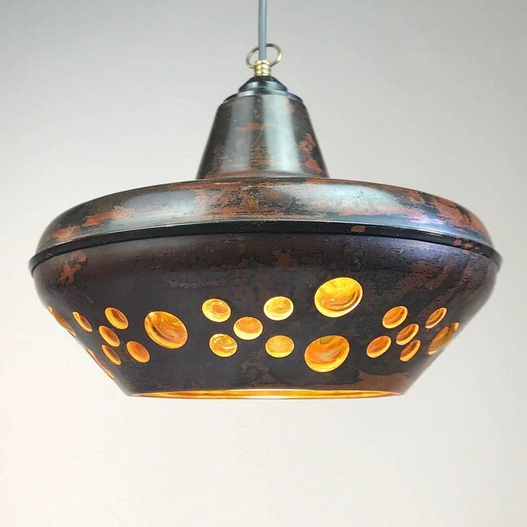 Mid-20th Century Nanny Still McKinney Brutalist Ceiling Pendant for RAAK, Holland 1960s For Sale