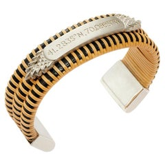 Nantucket Basket Quarterboard Bracelet