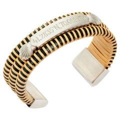 Nantucket Basket Quarterboard Scallop Shell Bracelet