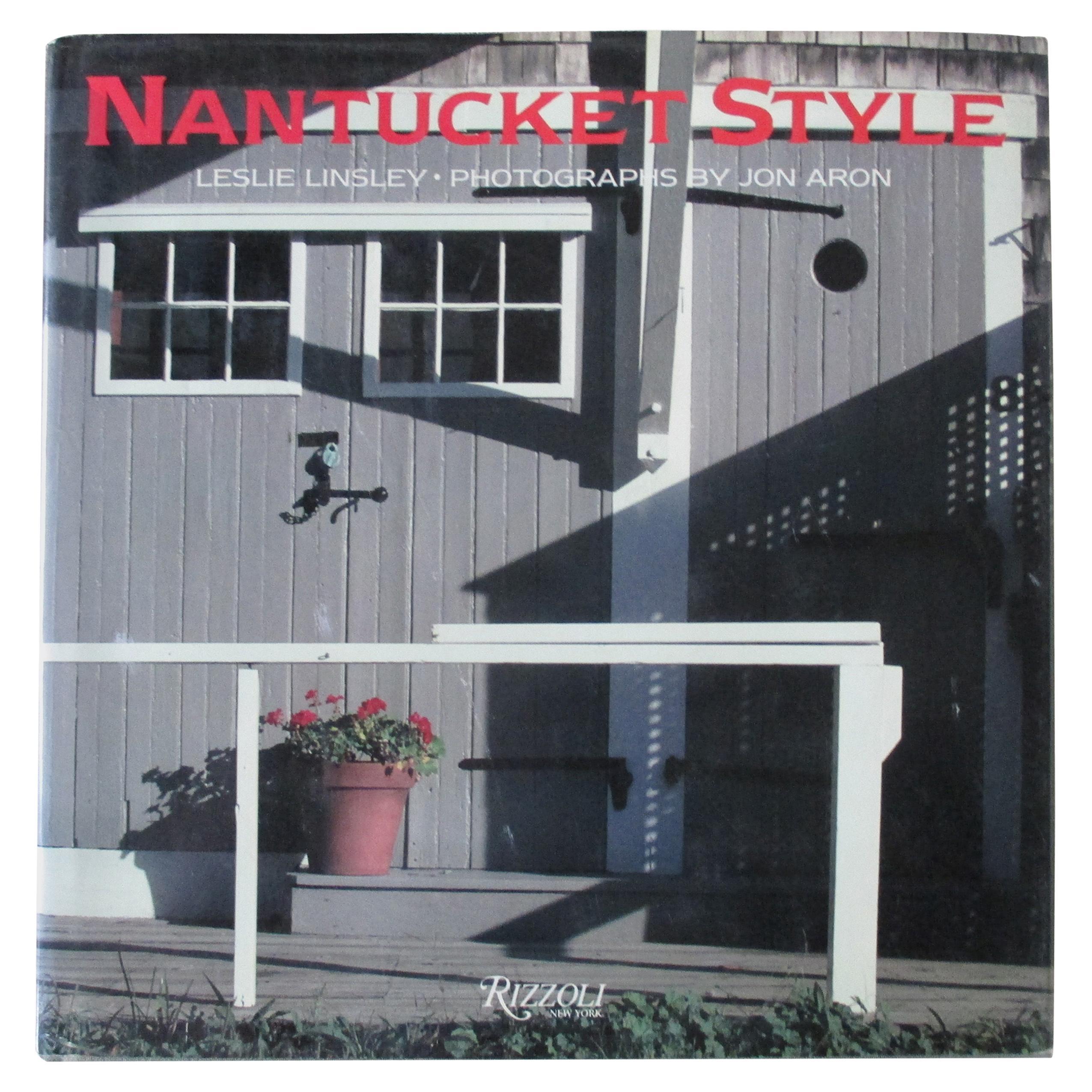 Nantucket Style Hardcover Book