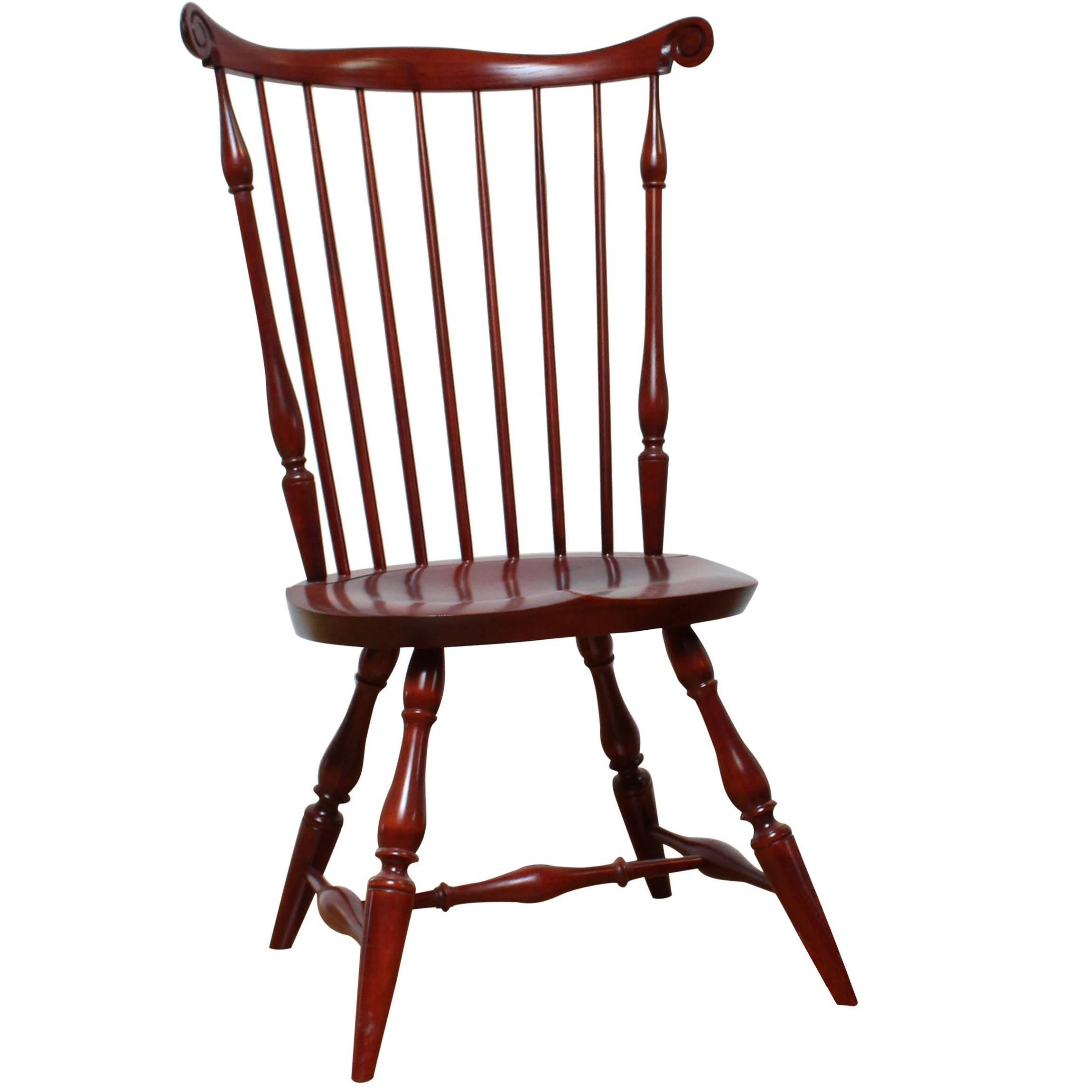 Nantucket Style Windsor Side Chair by Warren Chair Works For Sale  sc 1 st  1stDibs & Nantucket Style Windsor Side Chair by Warren Chair Works For Sale at ...