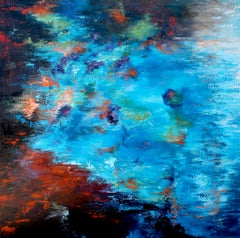 Reflection IX, Abstract Oil Painting