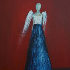 Who Are These Angels CXXXVIII, Painting, Oil on Canvas