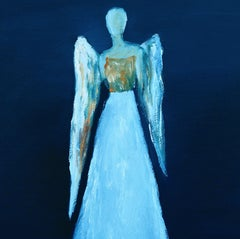 Who Are These Angels CXXXVIX, Painting, Oil on Canvas