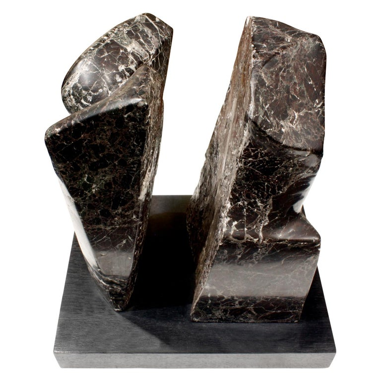 "Naomi Feinberg ""Fractured Planet"" Sculpture in Italian Red Levanto, 1960s For Sale"