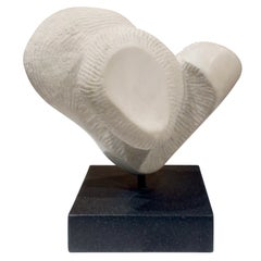 "Naomi Feinberg ""Stretto"" Sculpture in Vermont Marble 1960s"