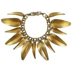 Napier 1955 Willow Leaf Bracelet