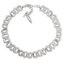 Napier Vintage Silver Chunky Link Necklace