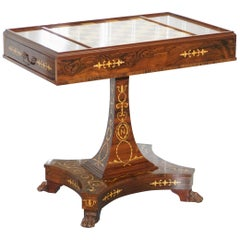 Napoleon Empire Chess Games Table Redwood Carlo Beccalli Palace Fontainebleau