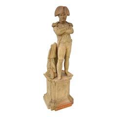 Napoleon Figure in Terra Cotta