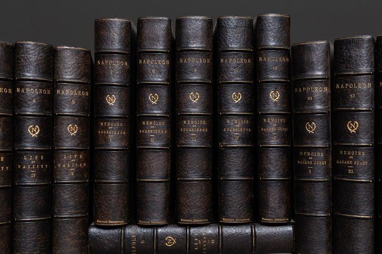 French 'Napoleon' Hazlitt, Junot & Bourrienne, Memoirs and Life of Napoleon For Sale