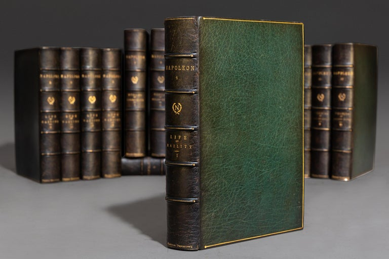 'Napoleon' Hazlitt, Junot & Bourrienne, Memoirs and Life of Napoleon In Good Condition For Sale In New York, NY