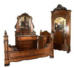 Napoleon III Bedroom Set, France, circa Second Half of the 19th Century