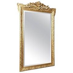 Napoleon III Big Mirror, France, 19th Century
