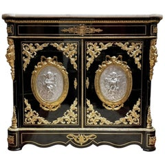 Napoleon III Boulle Cabinet, France, 19th Century