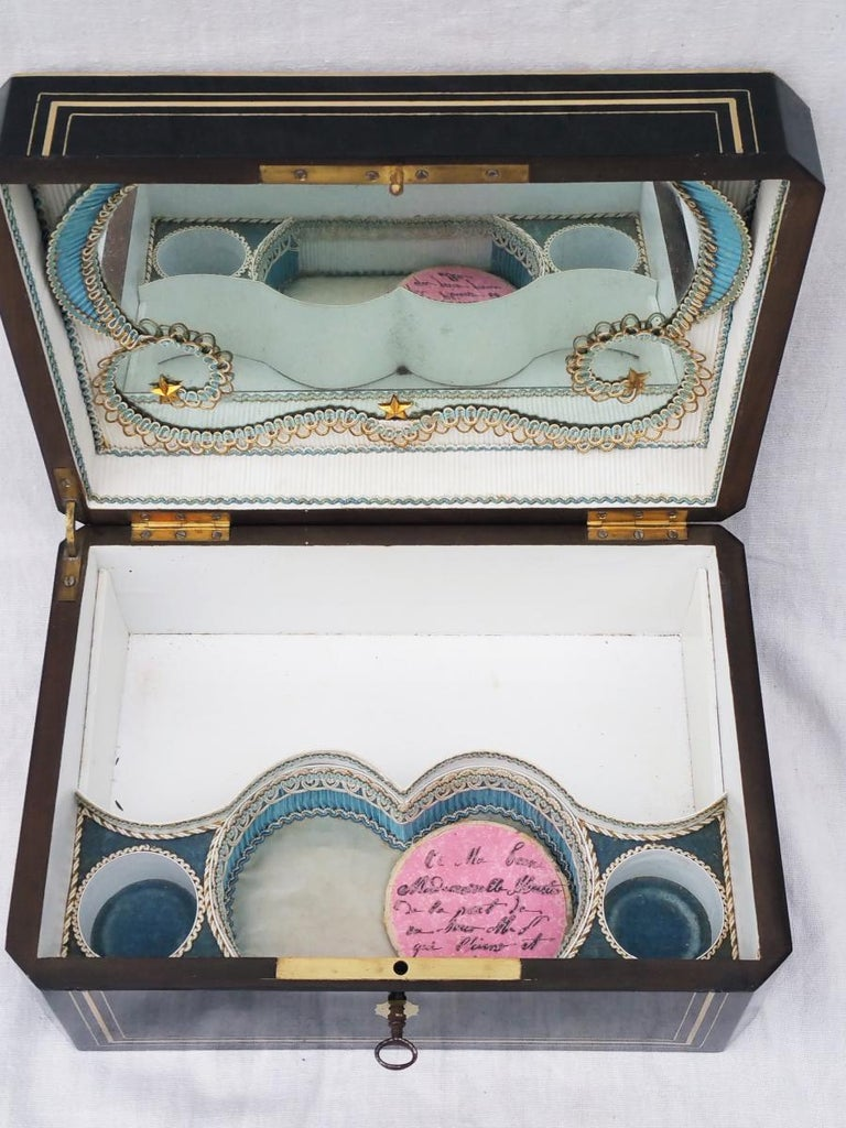Napoleon III  Boulle Marquetry Jewelry Box, France 1865 In Good Condition For Sale In Paris, FR
