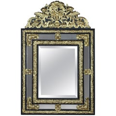 Black Mantel Mirrors and Fireplace Mirrors