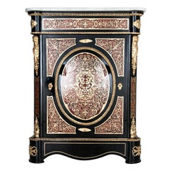 Napoleon III Cabinet Buffet Boulle Style, France, 1860