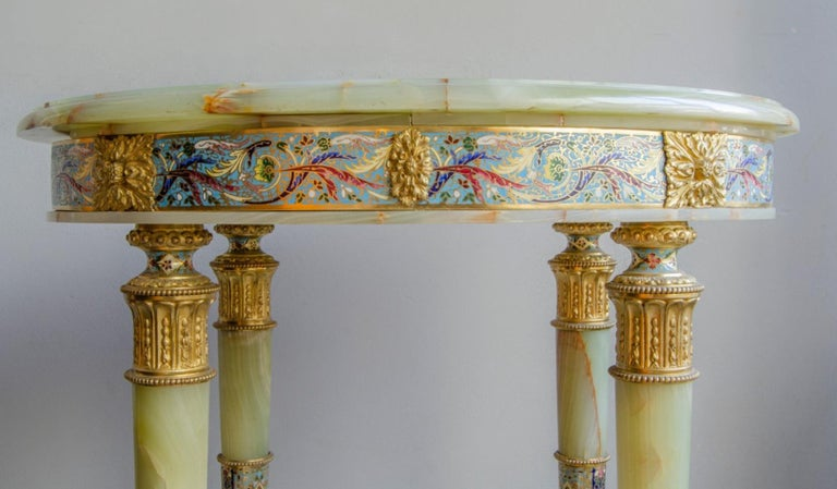 French  Napoleon III Center Table For Sale
