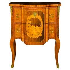 Napoleon III Dresser in Inlaid Rosewood, France, 1880