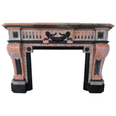 Napoleon III Fireplace with a Strong Impression
