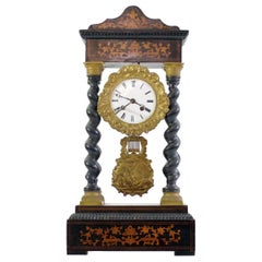 Napoleon III French Mantle Clock, circa 1880