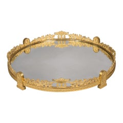 Napoleon III Gilt-Bronze Surtout-De-Table