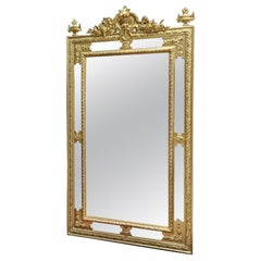 Napoleon III Gilt Wall Mirror, France, 19th Century