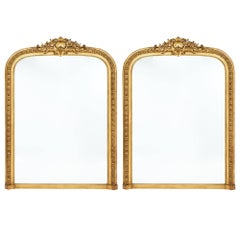 Napoleon III Gold Leafed Mirrors