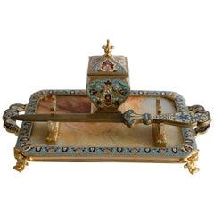Napoleon III Inkwell