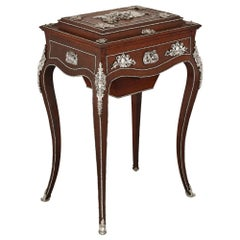 Napoleon III Period Dressing Table, Attributed to Diehl